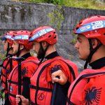 Fillojnë Trajnimet si Guid Rafting